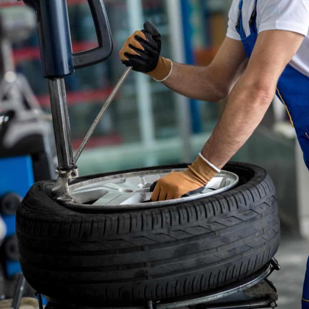 Восстановление шин и система контроля давления в шинах